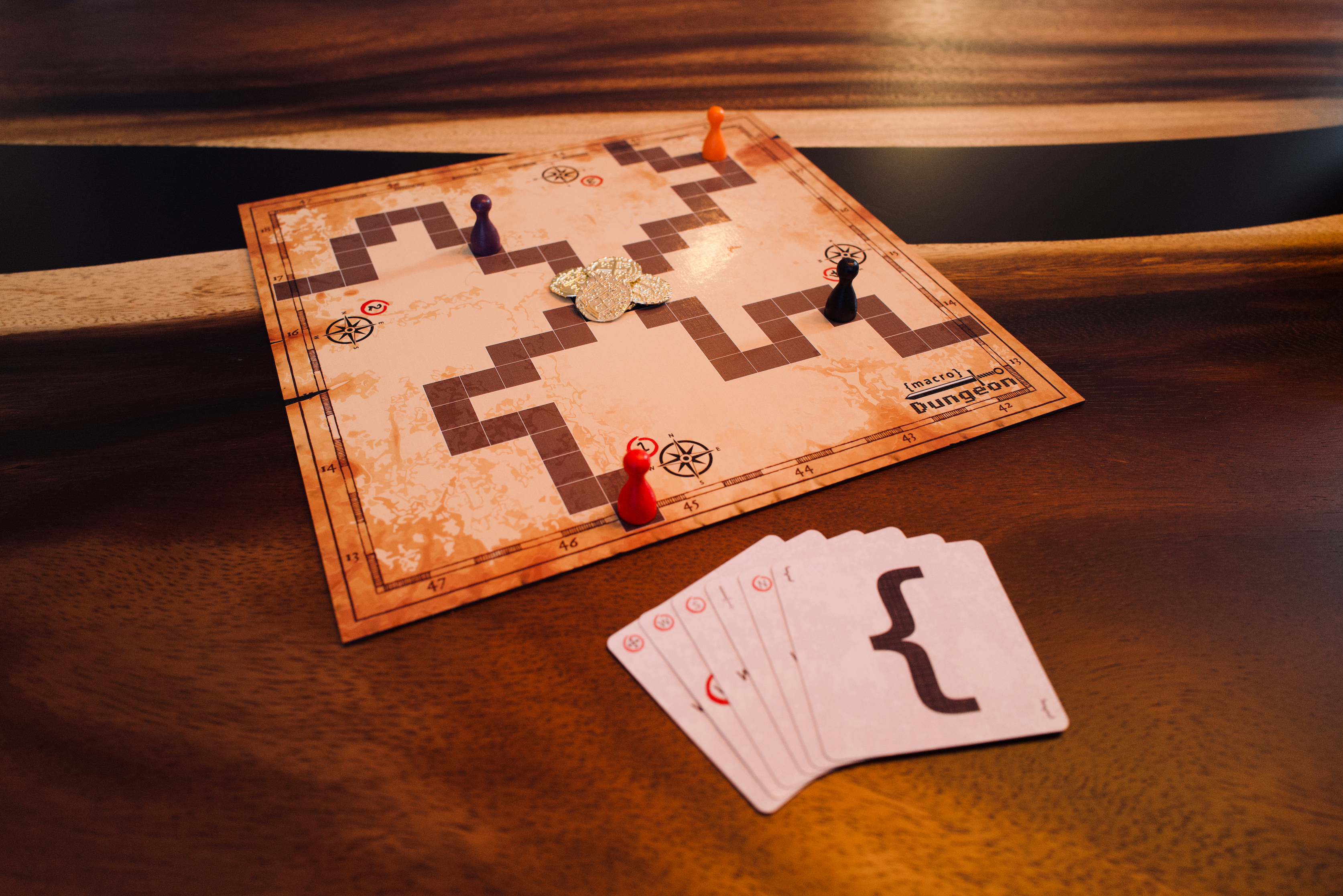 Photo of game board
