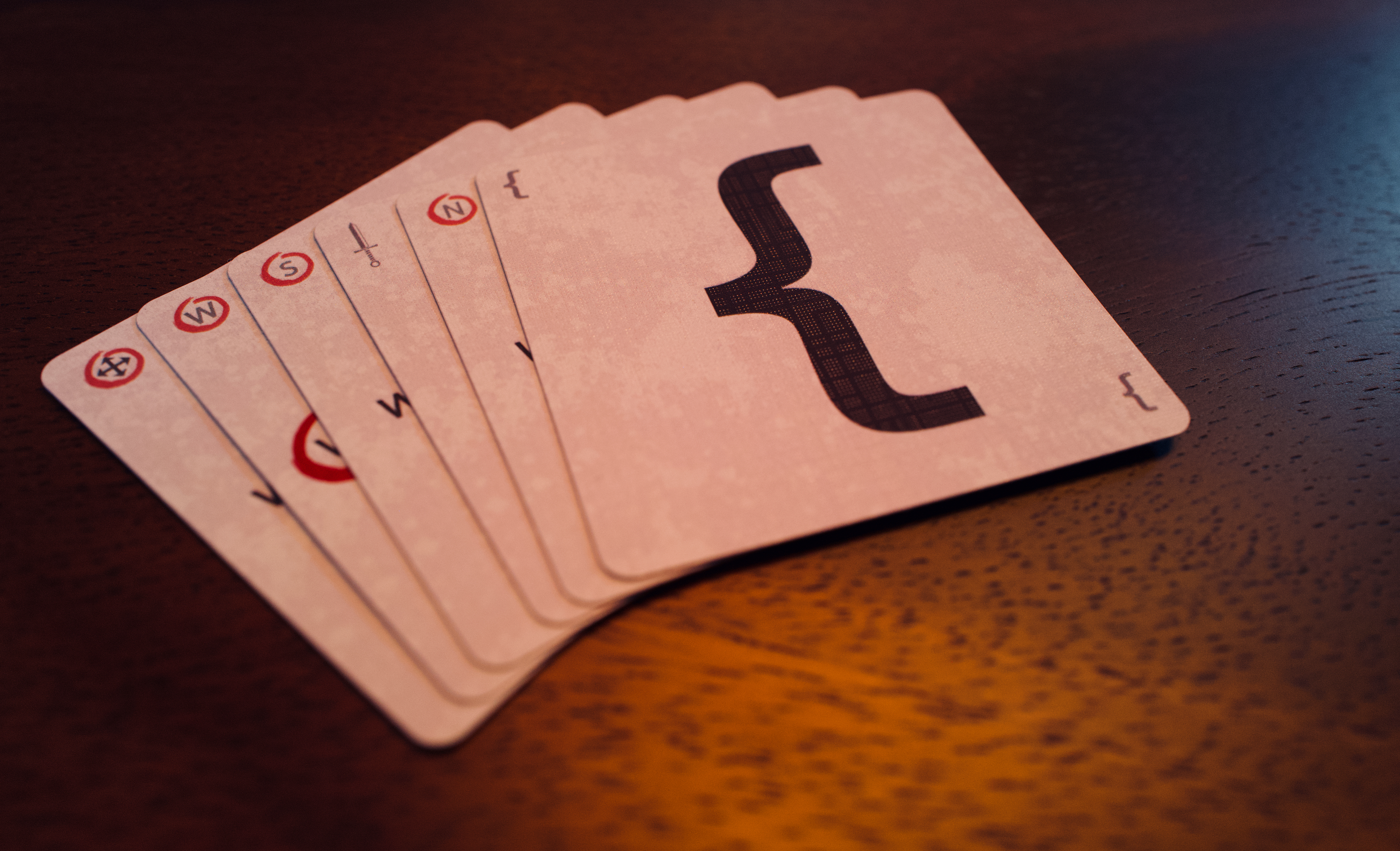 Photo of game cards