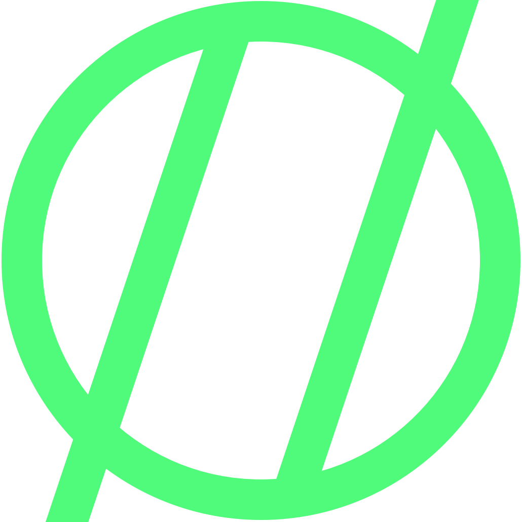 blog logo in green