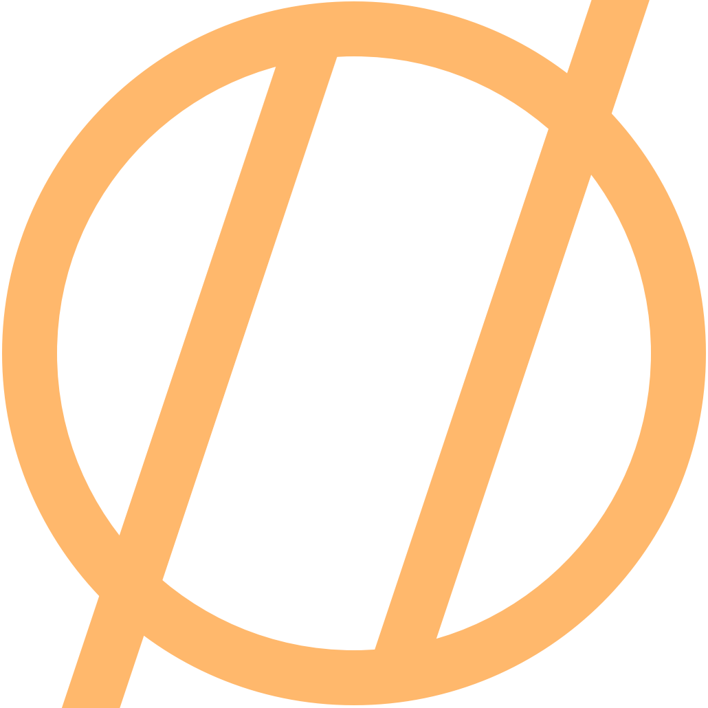 blog logo in orange
