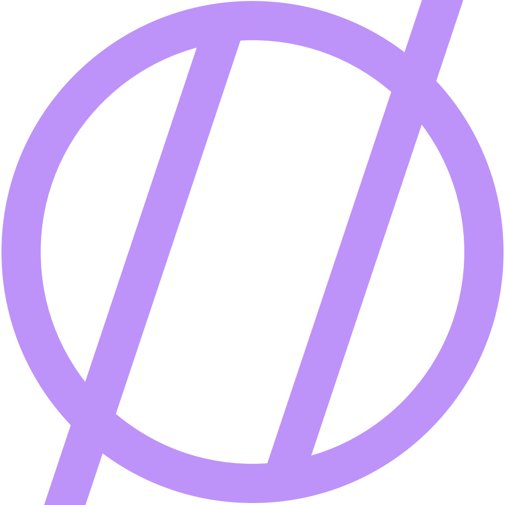 blog logo in purple