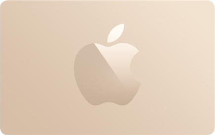 Gold Apple Gift Card