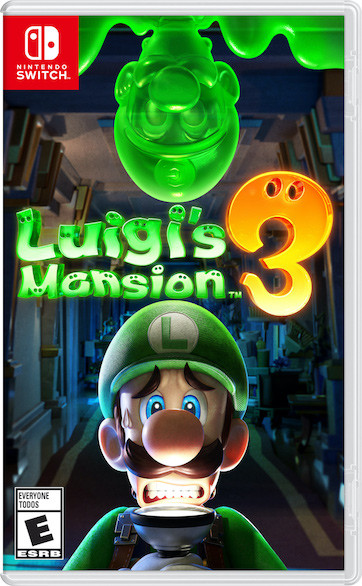 Luigi's Mansion 3 Game Box