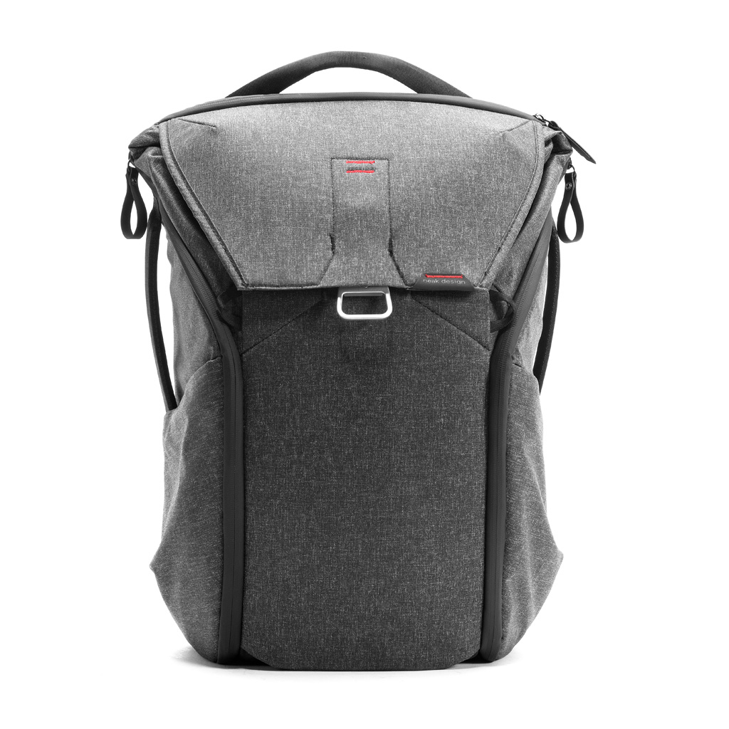 Peak Everyday Backpack, Charcoal